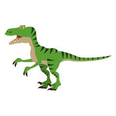 T rex cartoon vector illustration graphic design