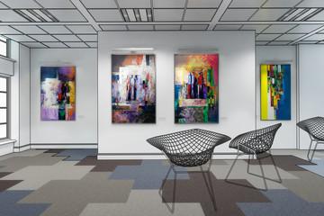 Gemäldeausstellung (Konzept)