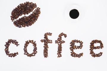 White coffee texture