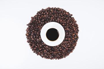 Stylish coffee wallpaper