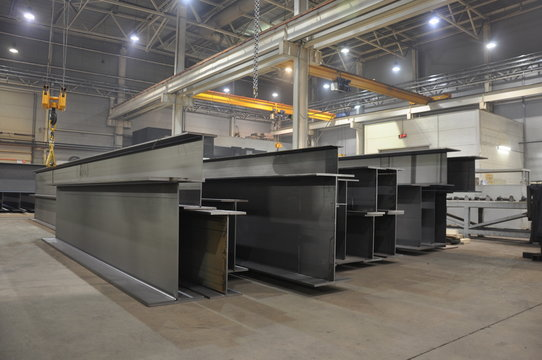 products of the plant for the production of metal structures
