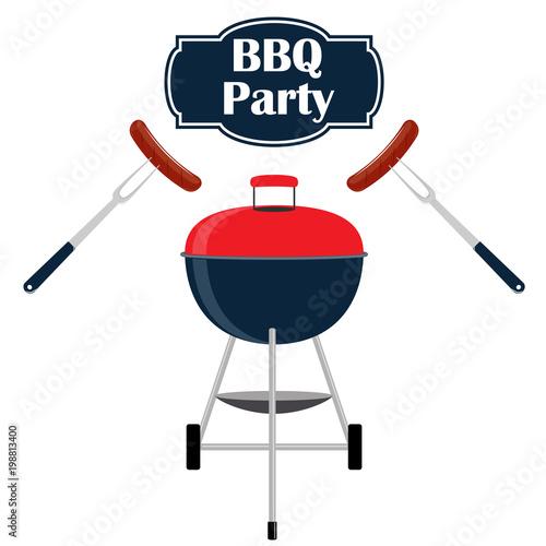 Barbecue Party Invitation Card Design Template Barbecue