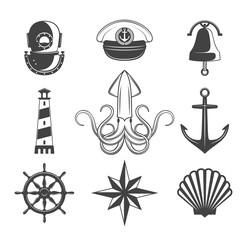 Naval Icons Set