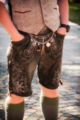 Schönes Detail, Teil einer typisch bayerischen Kleidung_003