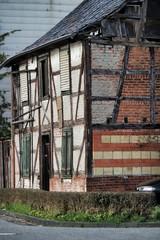 verlassenes Fachwerkhaus