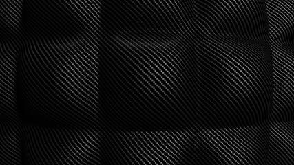 Soft Carbon bakground 3d render illustration