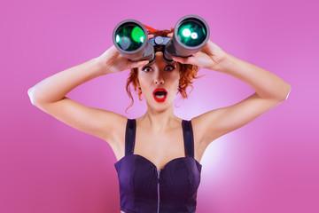 looking to binocular