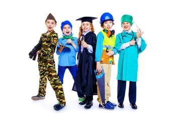 different professions children