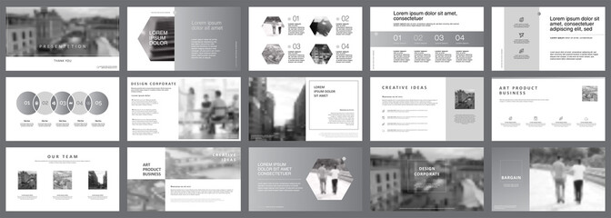 Fifteen Consulting Slide Templates Set