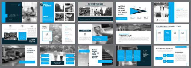 Fifteen Economics Slide Templates Set