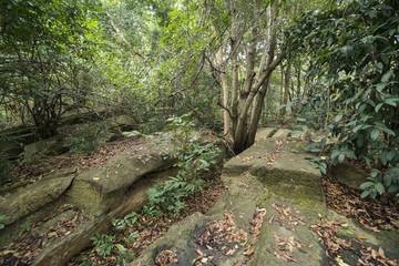 THAILAND BURIRAM KHMER ANCIENT QUARRY
