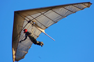 Hang-glider flight in Crimea