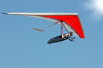 Hang gliding iin Crimea
