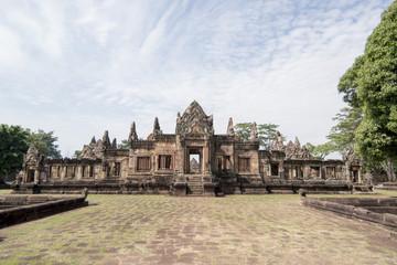 THAILAND BURIRAM KHMER TEMPLE PRASAT MUANG TAM
