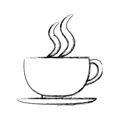grunge hot coffee cup fresh beverage