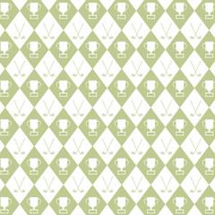 Golf pattern background