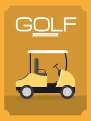 Golf sport tournament