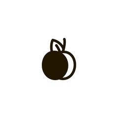 fruit icon. sign design