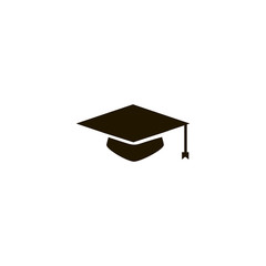 graduate hat icon. sign design