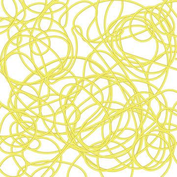 Boiled Floury Product Spaghetti Pattern