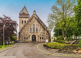 Kirche in der Altstadt von Alesund, Norwegen