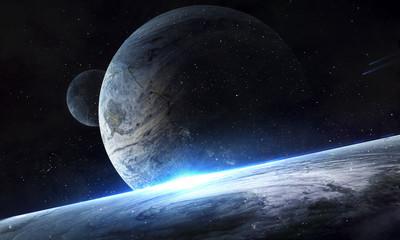 Космическое сияние планет