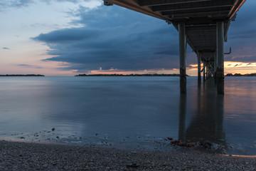 Sunrise on the Adriatic Sea
