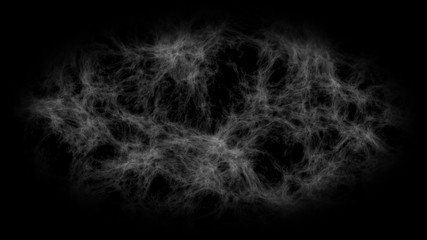 Fractal Texture for Clouds, Smoke or Galactic Space Nebula