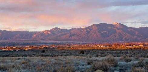 Taos Valley, New Mexico Fotoväggar