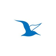 Albatross logo design template