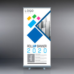 Roll up banner , business template