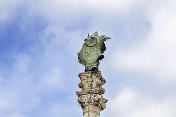 Statua di Sant'Oronzo - Lecce - vista posteriore