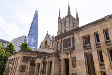 12th century gothic style Southwark Cathedral, London, United Kingdom