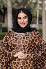 Arab girl in hijab