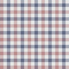 Tartan Vector Seamless Patterns, Dark Blue And Brown