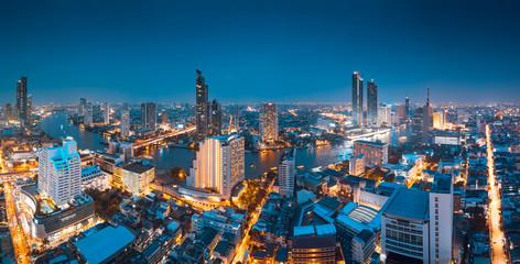 Fototapete - Bangkok panorama