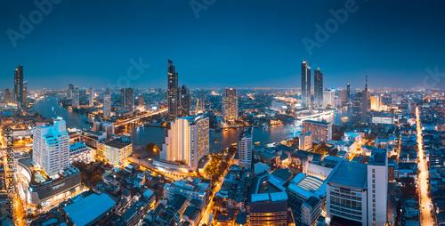 Wall mural Bangkok panorama