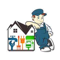 Repair of housing master
