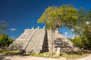 Chichen Itza Ceremonial Pyramid, Yucatan, Mexico