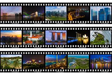 Frames of film - Singapore travel images (my photos)