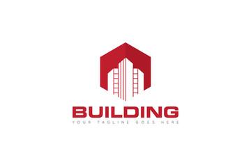 building logo and icon Vector design Template