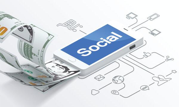 The Social media marketing