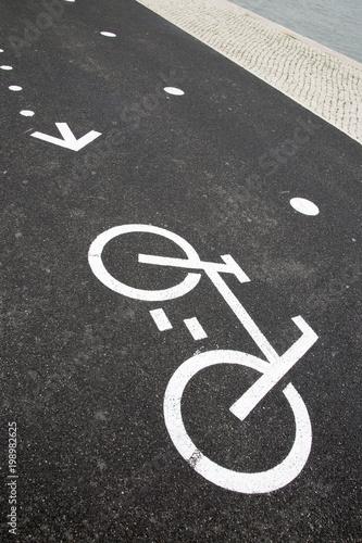 Bike Lane Symbol Stock Photo And Royalty Free Images On Fotolia