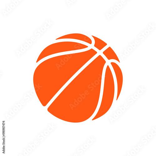 Basketball Logo Vector Icon For Streetball Championship Tournament