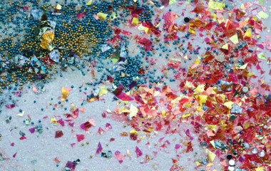 bright shiny colorful background, texture, abstraction