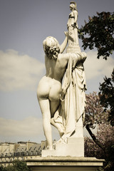 Statues in Paris Parks