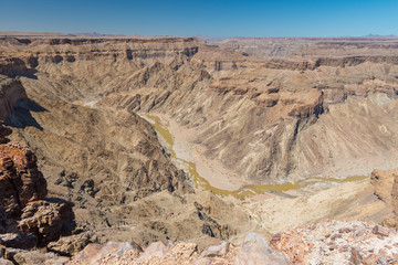 Landschaft am Fish River Canyon, Ai-Ais Richtersveld Transfrontier Park, Namibia