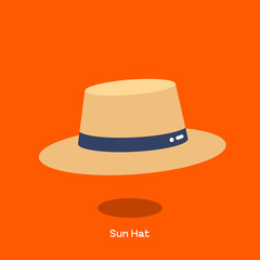 SUN HAT Straw sun hat with wide brim. Light weight straw hat is design to shade the face and shoulder from sun. We call harvest hat or field hat sometimes.