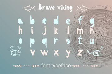 Modern alphabet in paper cut style. Scandinavian theme for great design logo, kids posters, t-shirt, font pattern