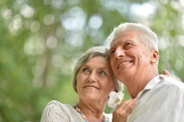 loving older couple